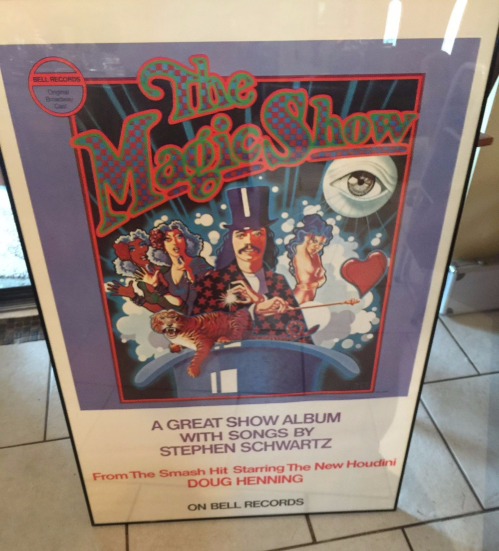 Magic Show Soundtrack Poster