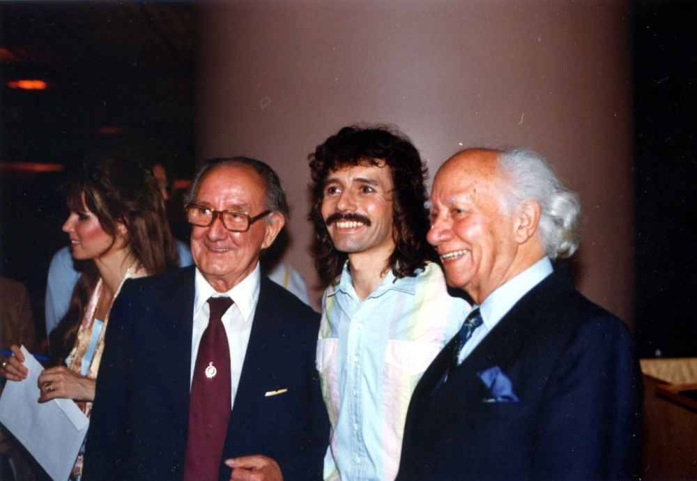 Bruce Posgate, Doug Henning, Sid Lorraine