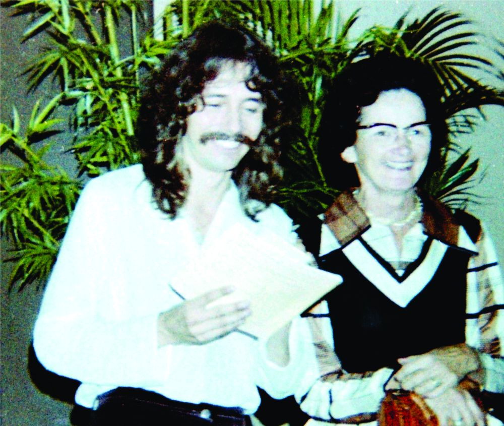 Doug Henning & Shirley(Mom) 1977