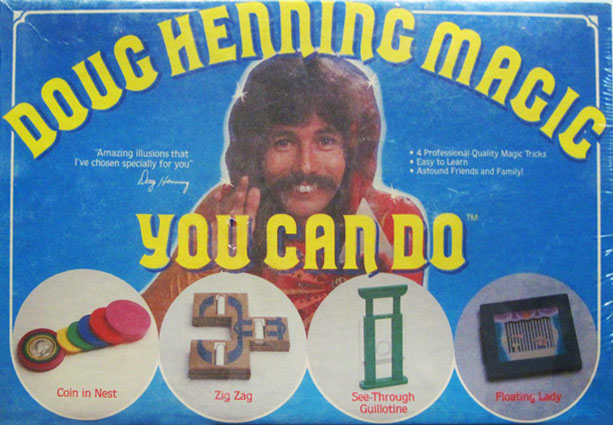 Doug Henning Tenyo Magic Set Box Cover - Michael Grandinetti Collection