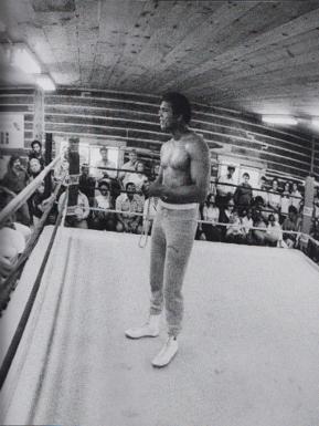 Ali Performing Rope Trick
