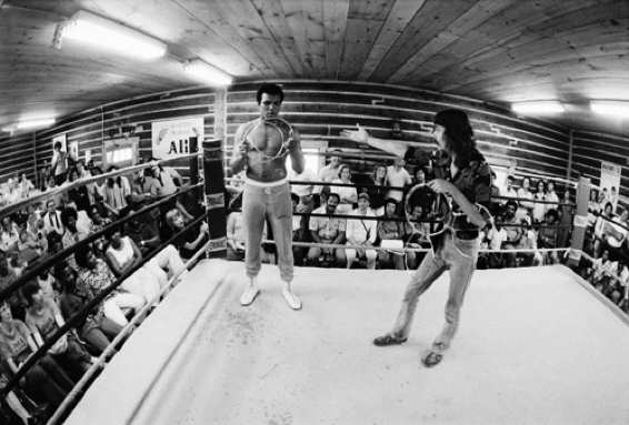 Doug and Ali in Ring