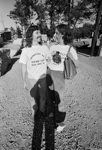Doug Henning, Jane Marla Robbins 1974 © 1978 Peter Angelo Simon