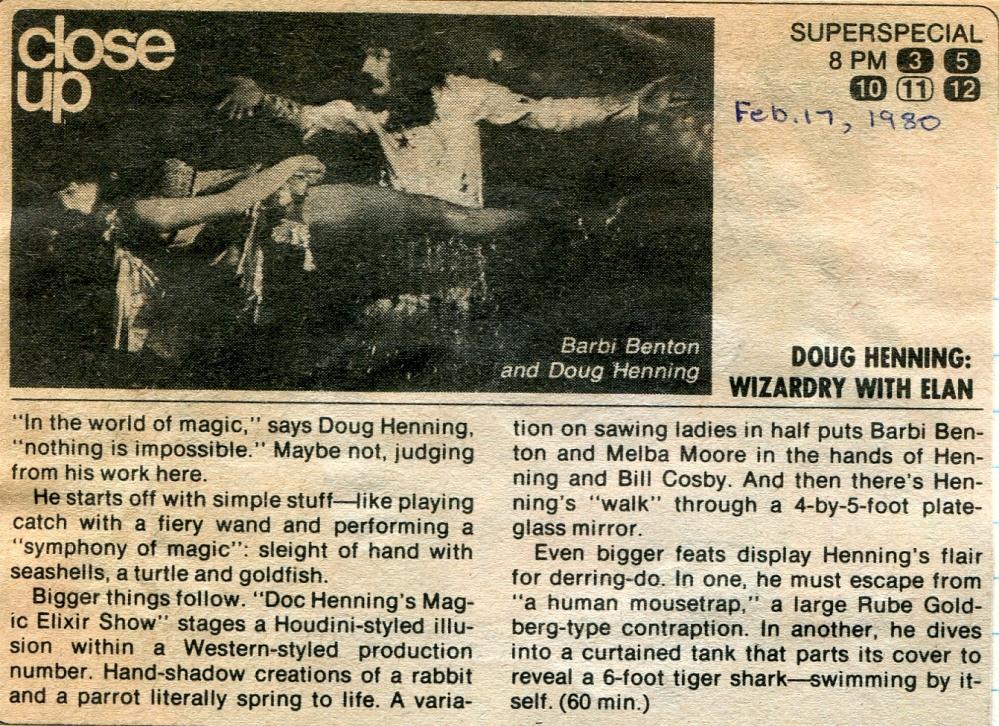 Doug Henning TV Special 1980.cdr