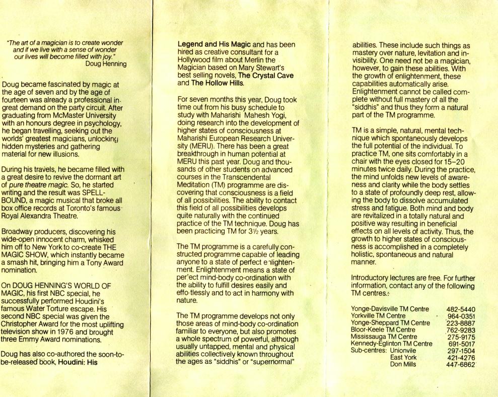 doug henning brochure 1977.cdr