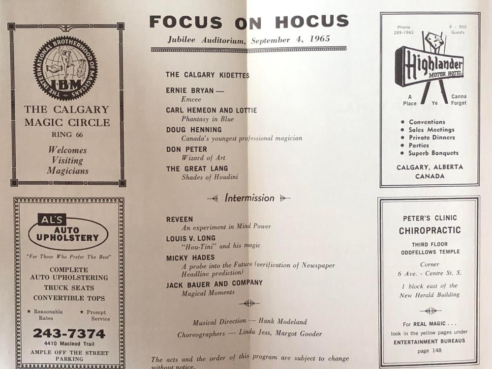 Focus on Hocus Inside
