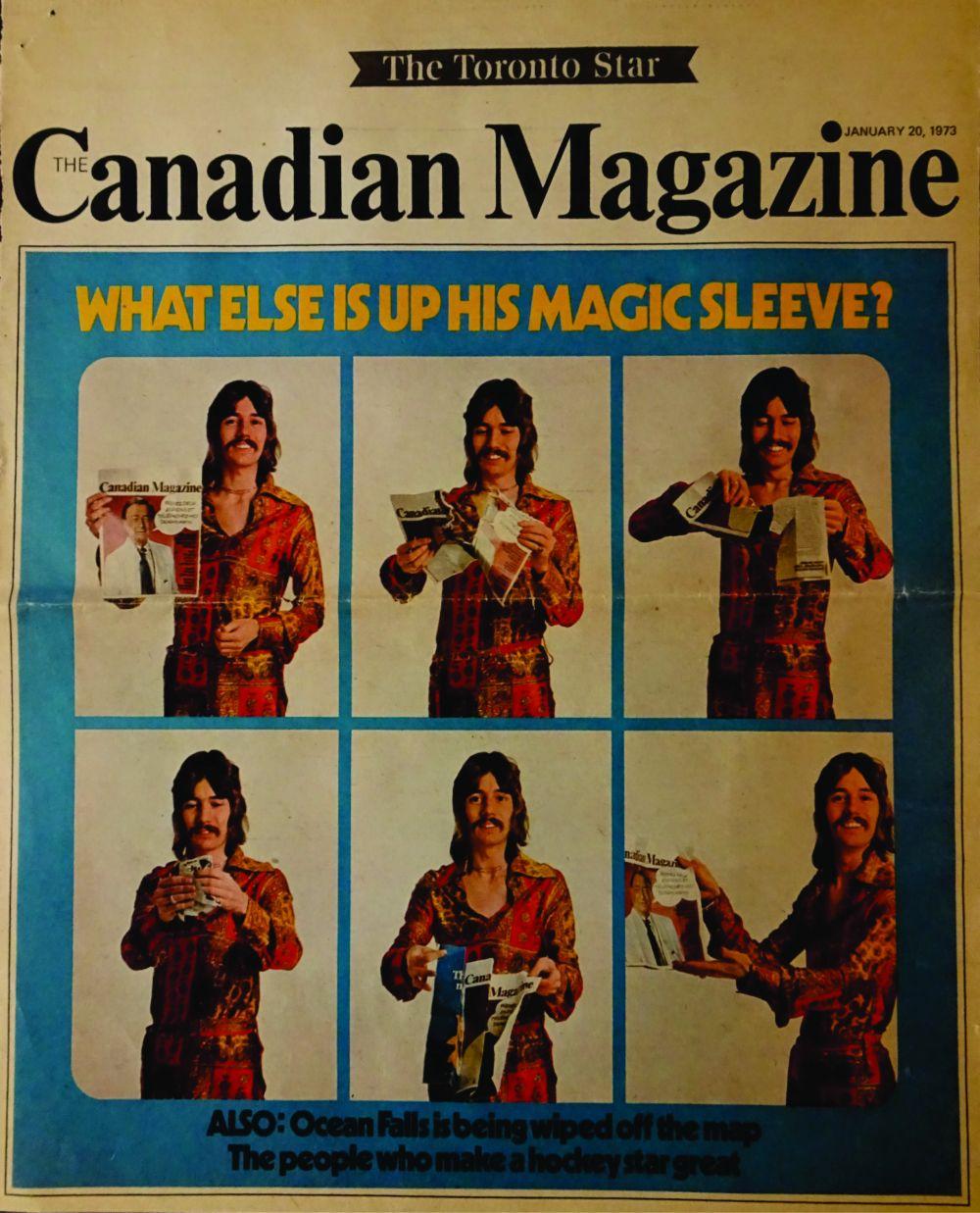 Doug Henning Canadian Magazine