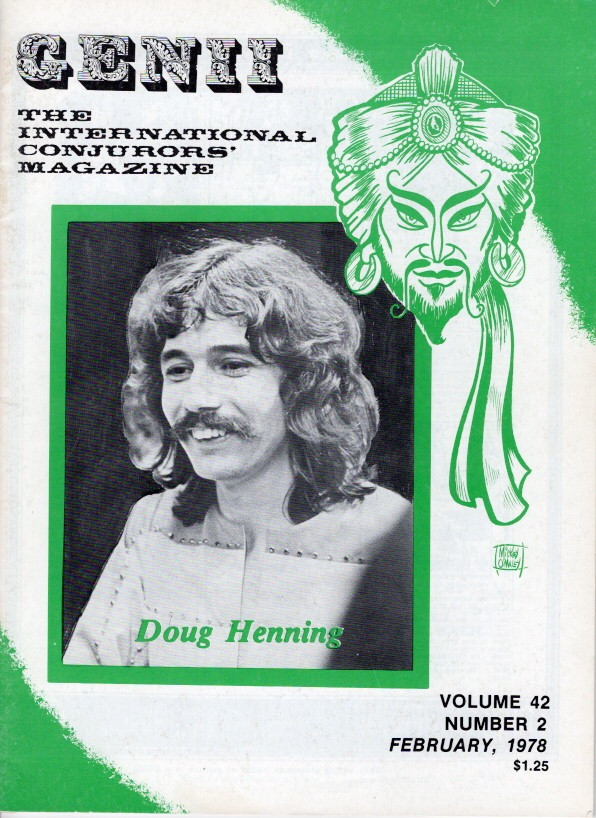 Genii 78 Cover